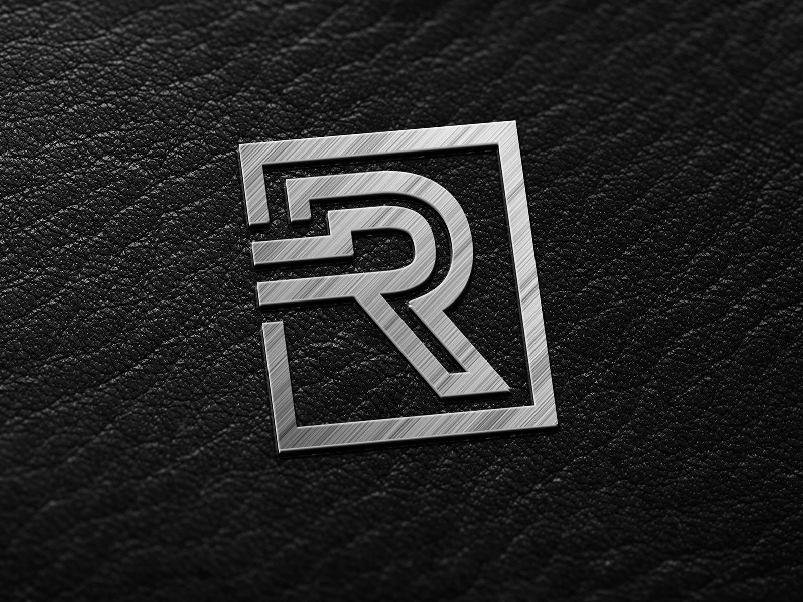 R Monogram Letter Logo Letter logo, Monogram letters, Logos