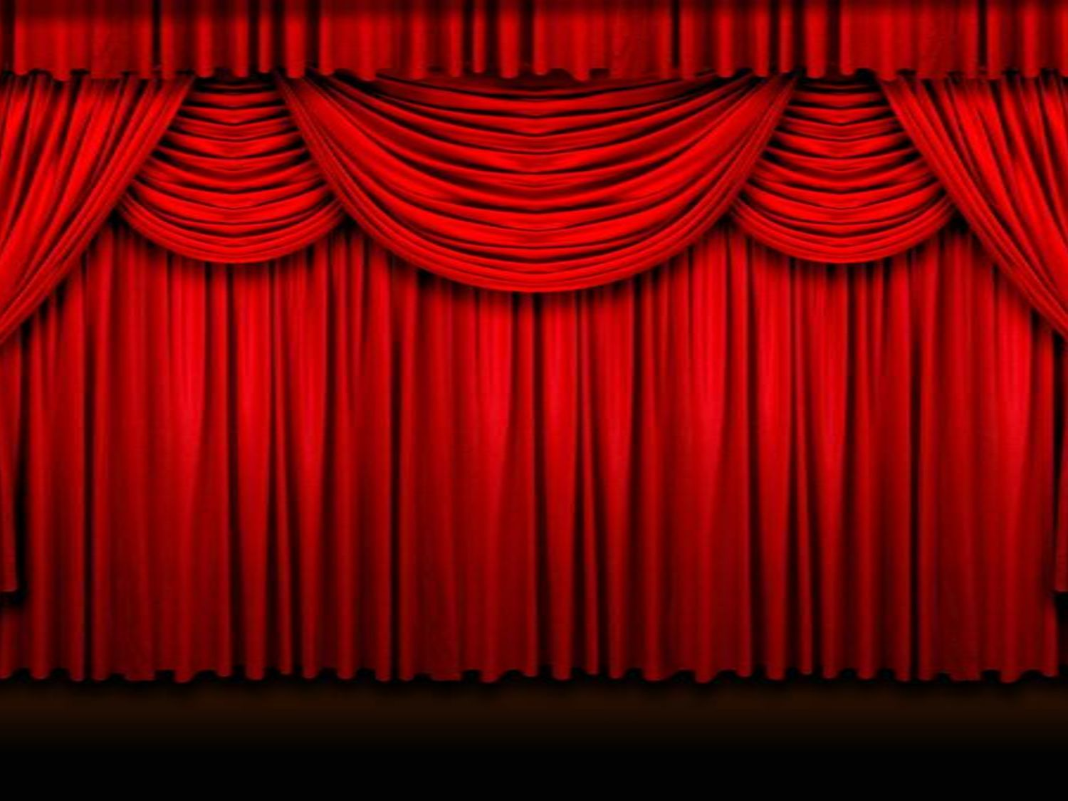 red curtains theatre - photo #12