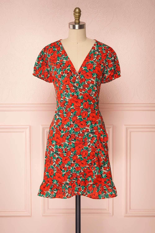 Leocadia In 2021 Short Dresses Vintage Inspired Dresses Short Sleeve Dresses [ 1500 x 1000 Pixel ]