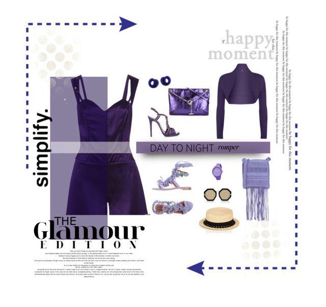 """Purple Swag"" by michelletheaflack ❤ liked on Polyvore featuring Funlayo Deri, Alberta Ferretti, Oscar de la Renta, Jimmy Choo, Karen Walker, Rip Curl, Eugenia Kim, WearAll, Tiffany & Co. and DayToNight"