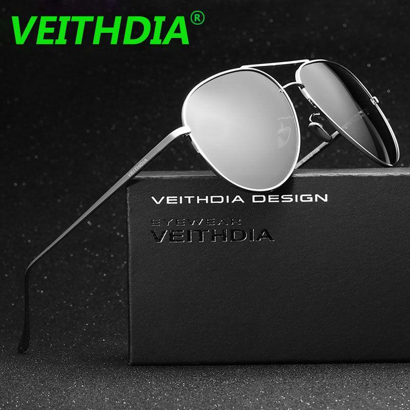 f0c5d7e9b3919 VEITHDIA Brand LOGO Original Driving Male oculos de sol Eyewear Accessories  Mirror UV400 Glasses Polarized Sunglasses For Men  Affiliate