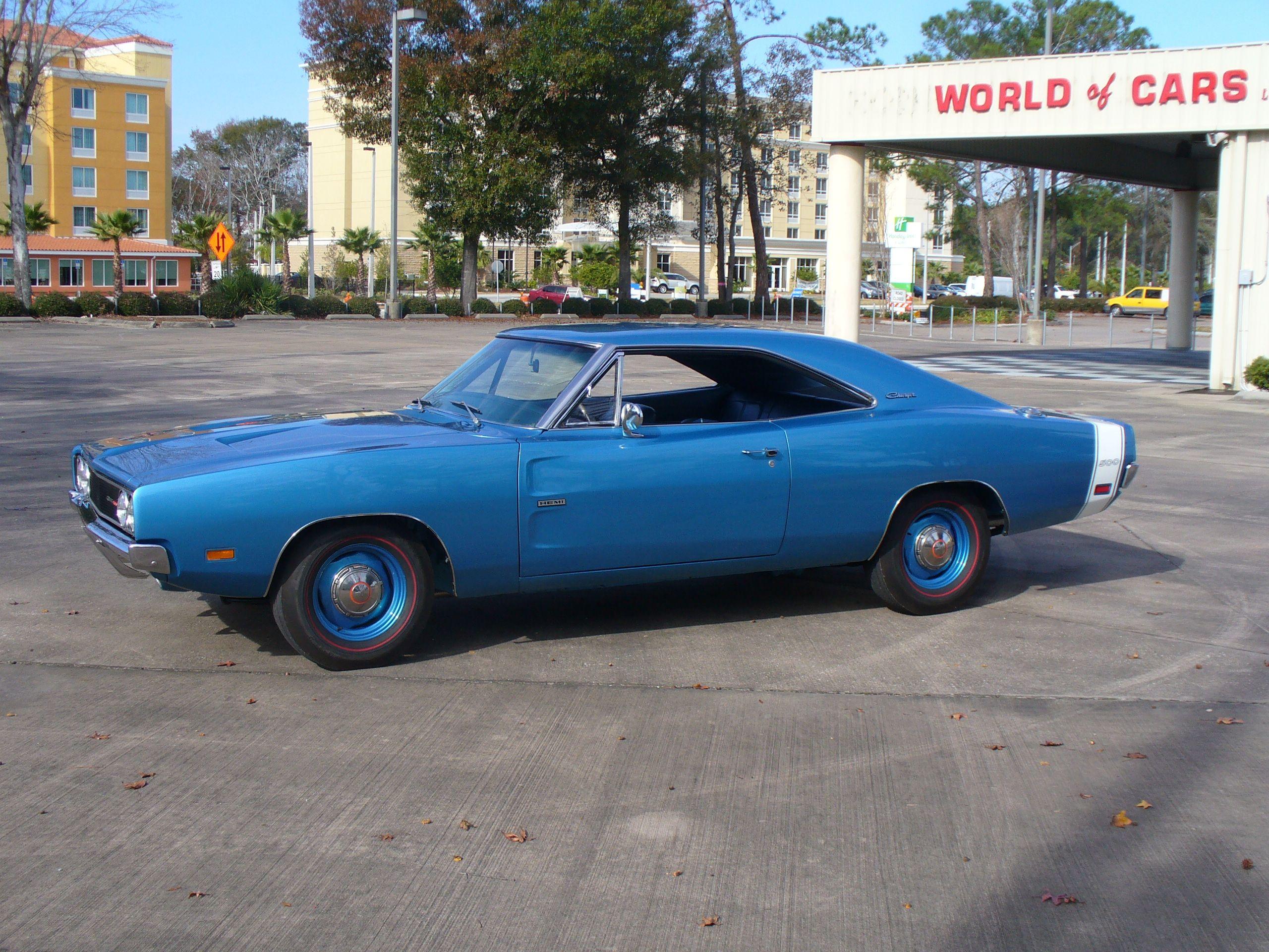 1969 Dodge Charger 500 Hemi Muscle Car Royalty Badass Cars