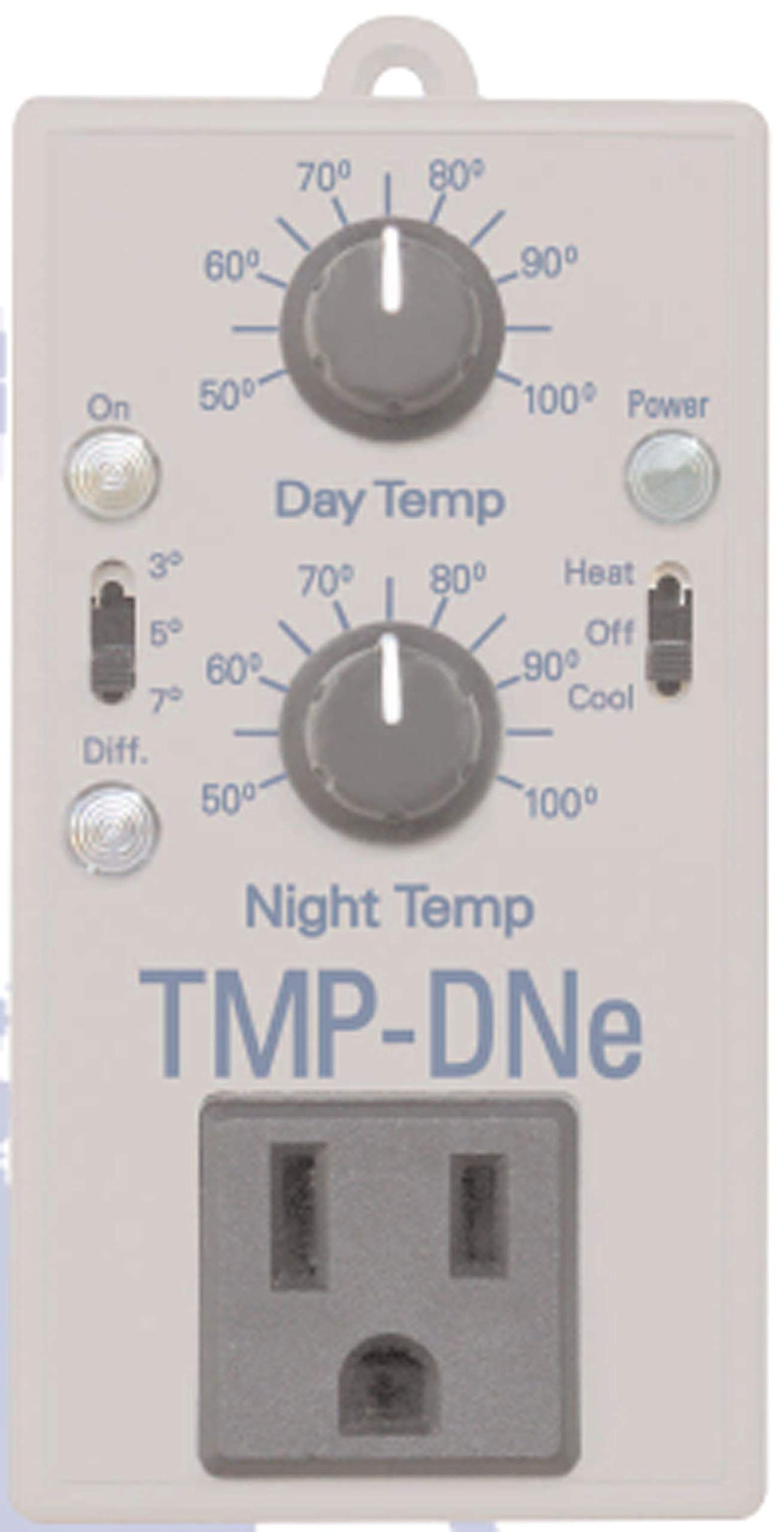 Hydrofarm Fba Catmpdne Day Night Cooling And Heating Thermostat