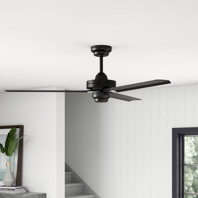 Mercury Row 54 Defelice 3 Blade Ceiling Fan With Remote Finish