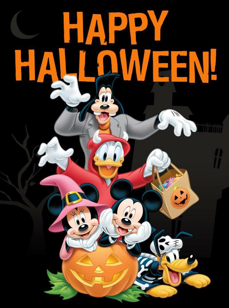 Mickey Mouse Mickey Mouse Halloween Happy Halloween Quotes Happy Halloween Pictures