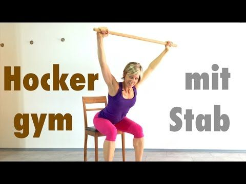 10 min. Hocker - Gymnastik mit dem Stab
