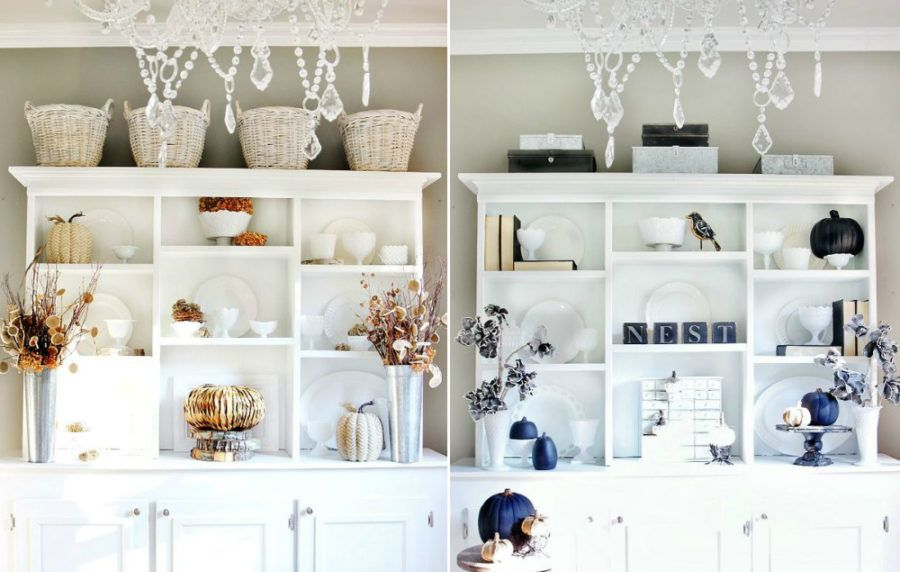 Kitchen Fall Decor Ideas That Are Simply Beautiful #herbstdekoeingangsbereich
