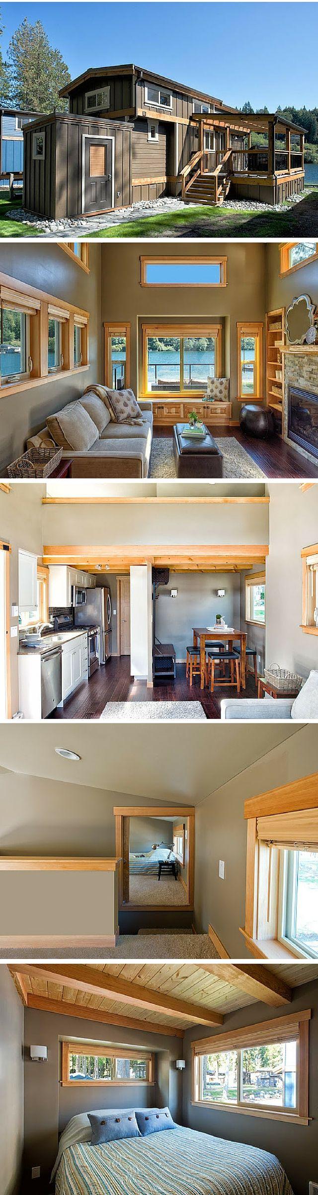 Small Luxury Lake Homes