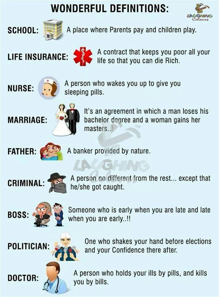 Wonderful Definitions Jokes Images Good Jokes English Jokes