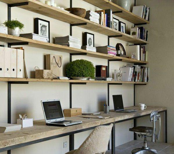 Design Pour Etagere Comment On Peut Choisir Une Etagere Idees De Decoration Interieure Etagere Bureau Et Bureau Industriel