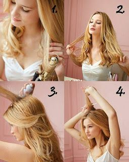 Pretty Little Dreams: Hair step by step