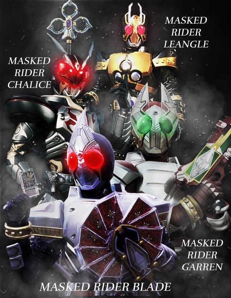 Kamen Rider Blade Garren Chalice Leangle By Phonenumber123 仮面ライダー ギャレン 仮面ライダーブレイド