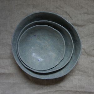 중첩이 그릇을 봉사의 이미지
