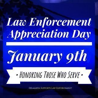 National Law Enforcement Appreciation Day (LEAD) takes place January 9th, 2020. ...