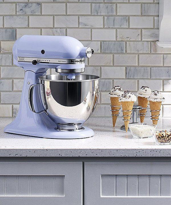 Look At This Kitchenaid Lavender Cream 5 Qt Artisan