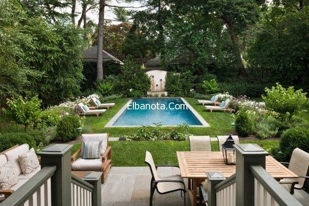حمامات سباحة منزلية حمامات سباحة 2015 حمامات سباحة عصرية Small Pool Design Small Backyard Pools Backyard Pool