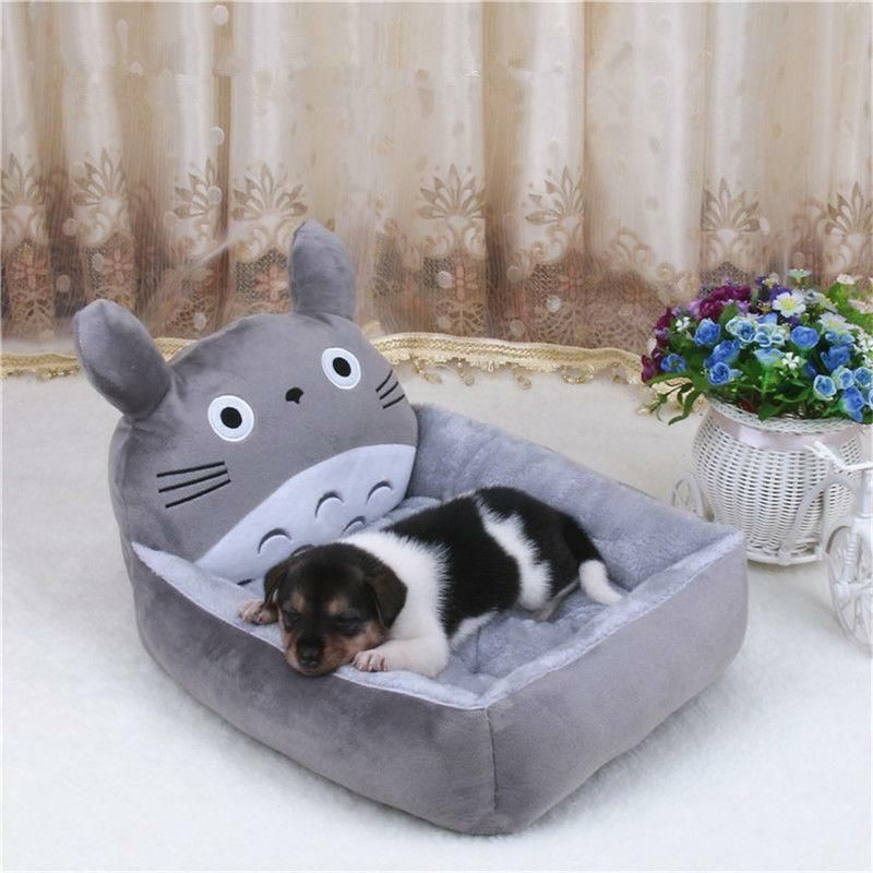 New Cartoon Pet Dog Cat Bed Mat Durable Kennel Doggy Puppy Cushion Basket Pad