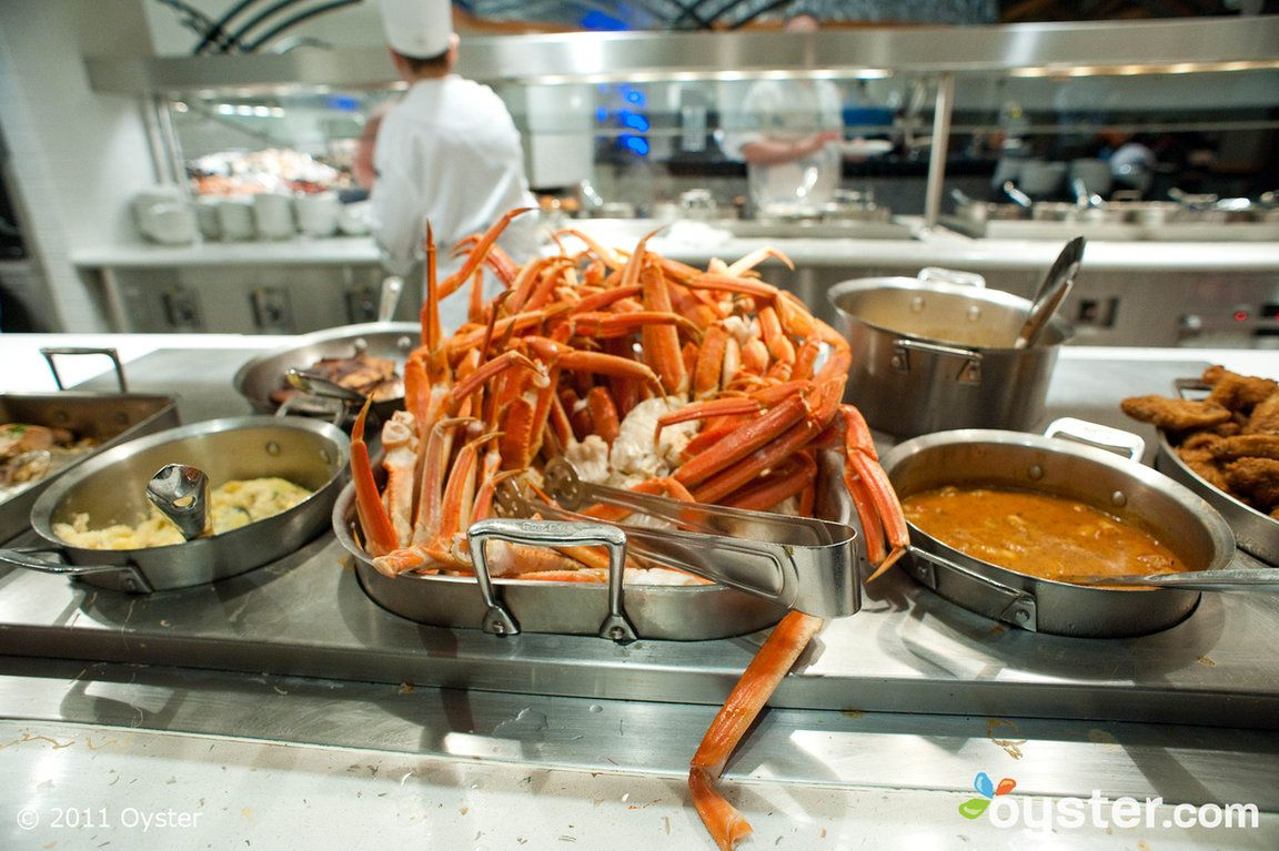 Village Seafood Buffet At The Rio All Suites Hotel Casino Seafood Buffet Las Vegas Seafood Buffet Vegas Food