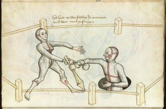 1459 : Trial by combat between a man and a woman