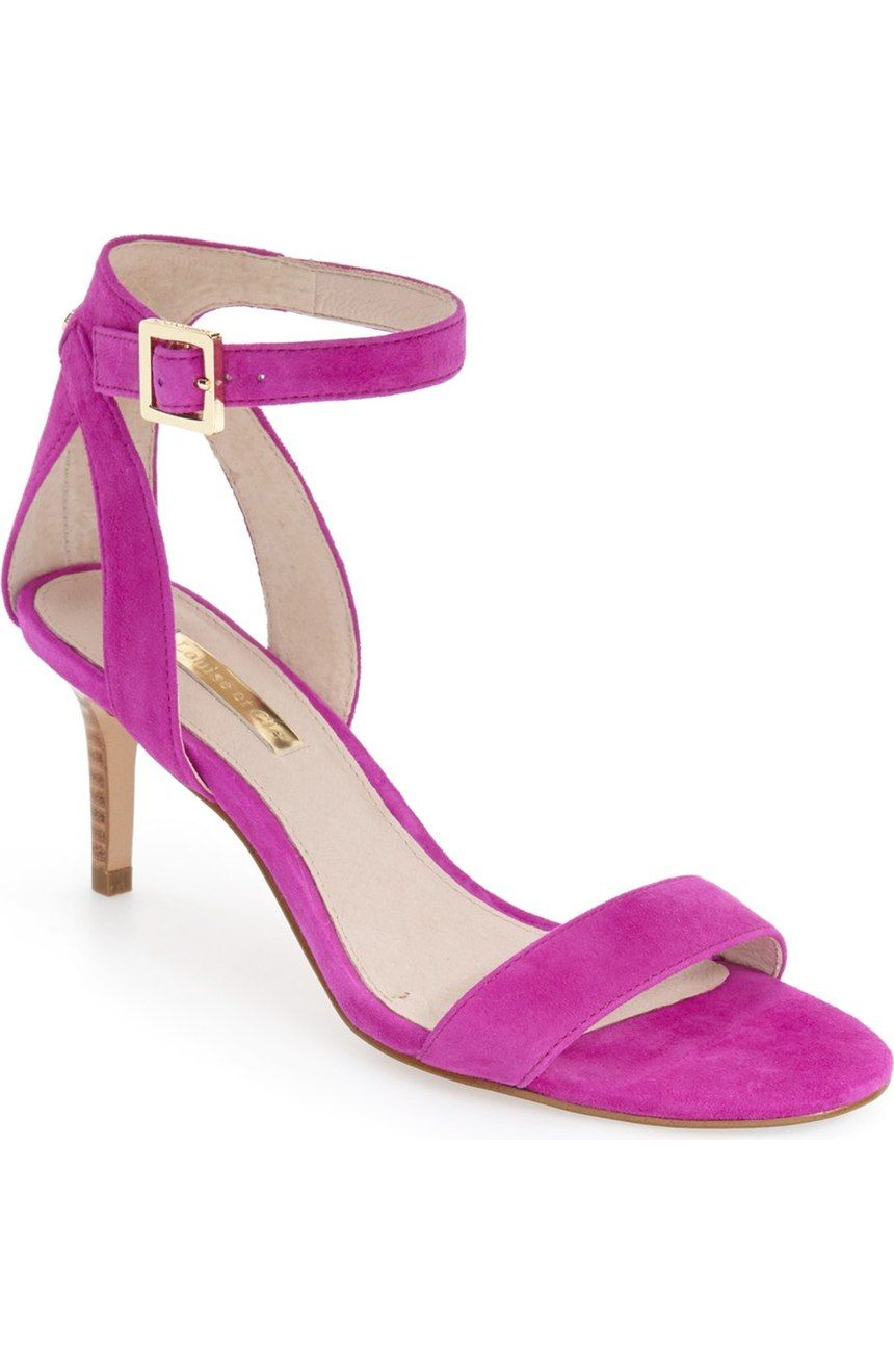1c29bf53ca1677 Loving these gorgeous orchid sandals for a bright pop of color ...