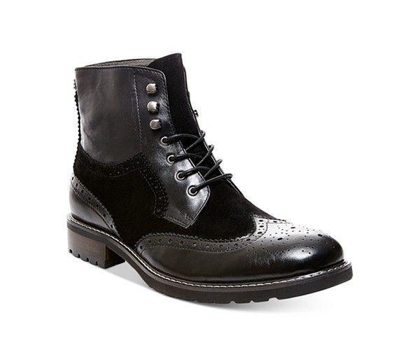 5a078552a08 Steve Madden Occupie Boots - Shoes - Men - Macy's | Men Styles ...