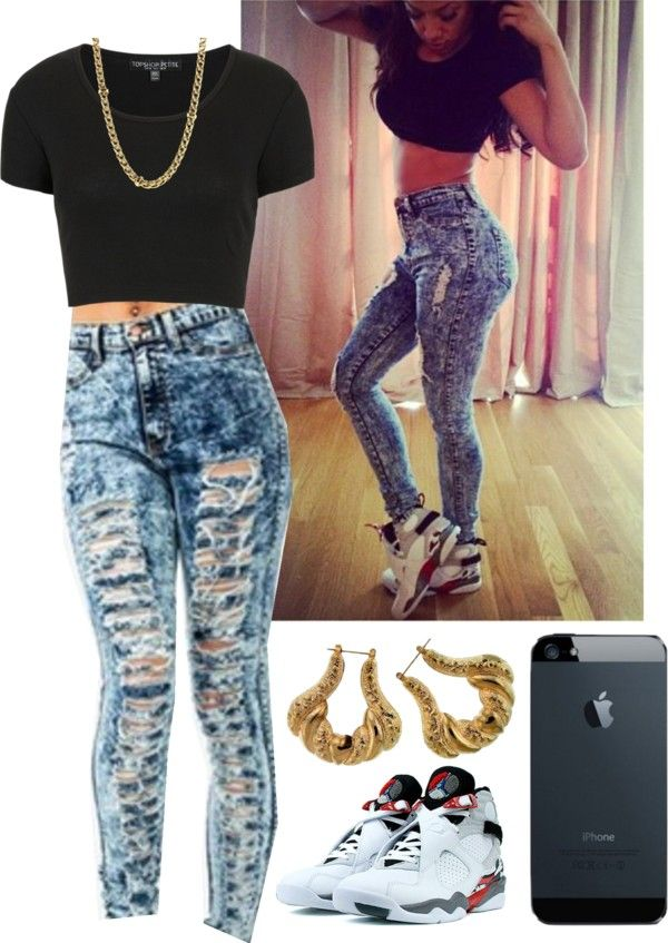 """""""Bugs Bunny."""" by jessica-tennille ❤ liked on Polyvore I want some jeans lik this."""