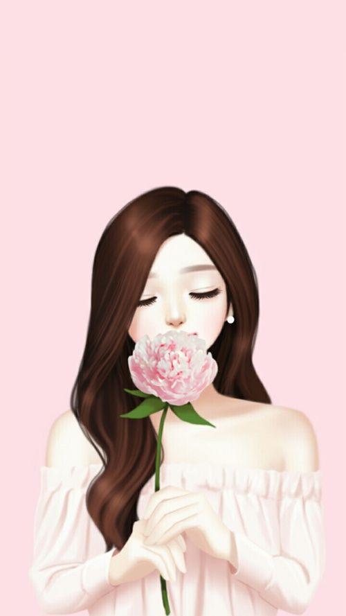 Unduh 500 Wallpaper Animasi Wanita Cantik  Paling Baru