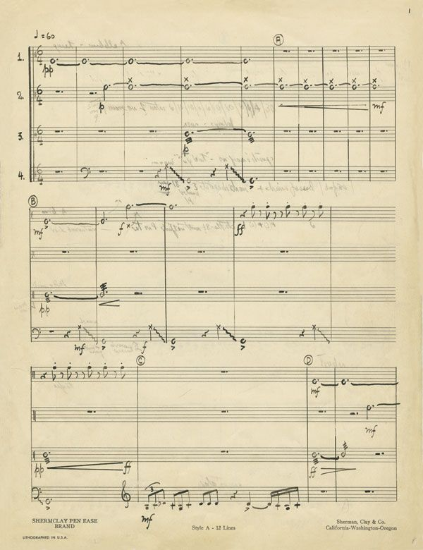 """From No Such Thing as Silence: John Cage's 4'33"""""""