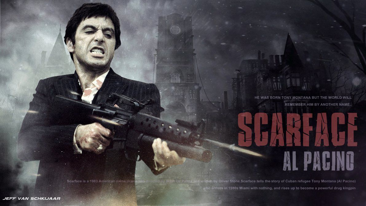 Pin by Colin Gower on Prohibition Scarface movie, Al