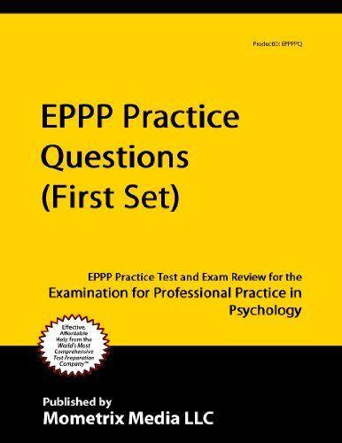 Eppp exam study guide