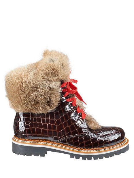 cori laque hiker - boots - footwear - Gorsuch. Rabbit FurFur TrimWinter ...