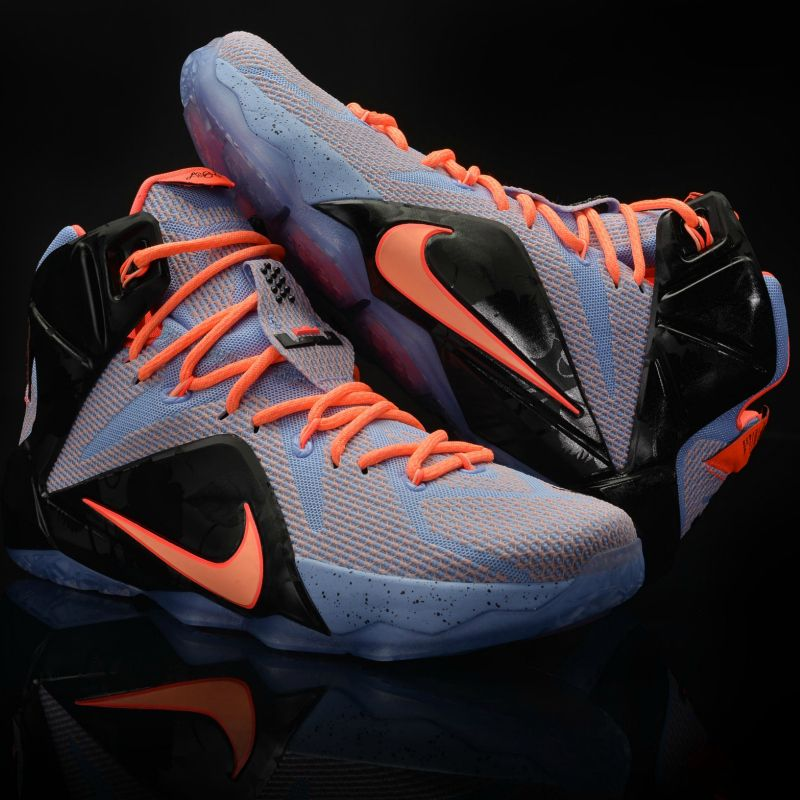 info for a979e 1386b Hold court like a king. The Nike LeBron 12 Easter edition arrives tomorrow.  Basketball LeBronJames