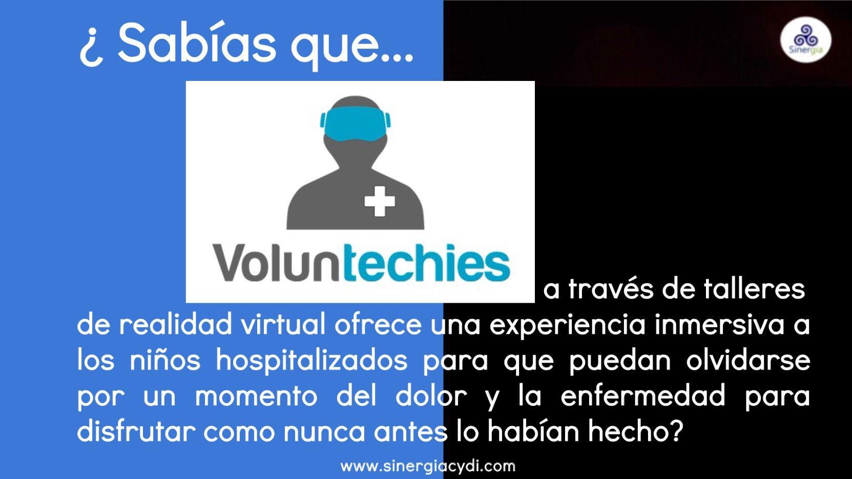 Voluntechies.org realidad virtual al servicio de niños hospitalizados