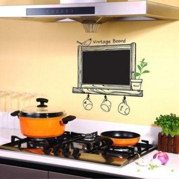 Nálepky na stenu - tabula do kuchyne | Nálepky na stenu | Pinterest