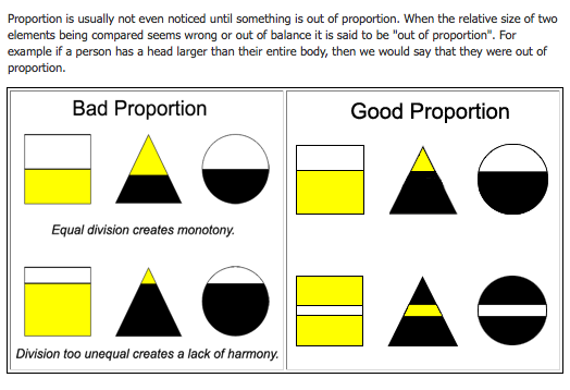 How to Improve your Designs by Using Proportions | Composition ...