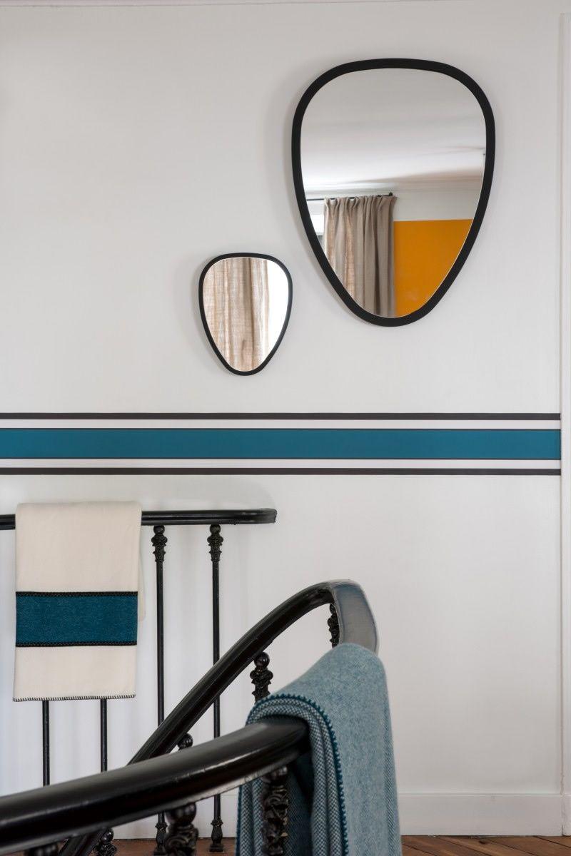 Bande Papier Peint Salon frise murale - maison sarah lavoine - disponible en bleu ou