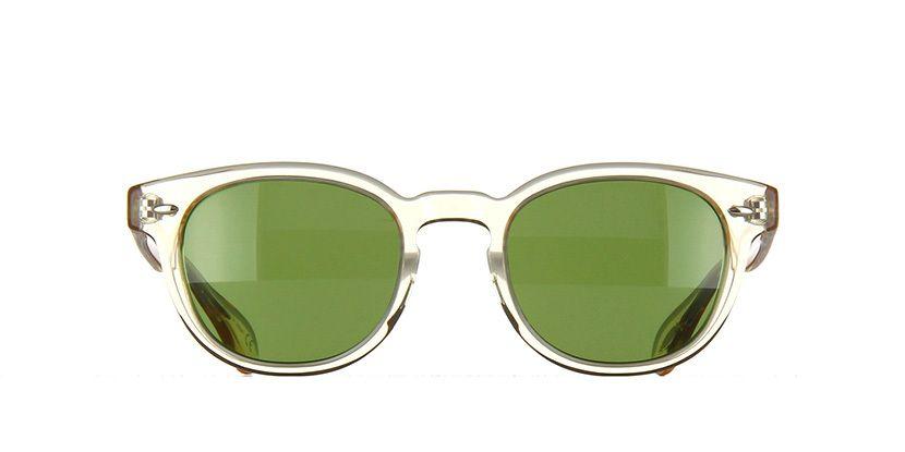 d691f28104f1 Oliver Peoples Sheldrake Buff Green Sunglasses