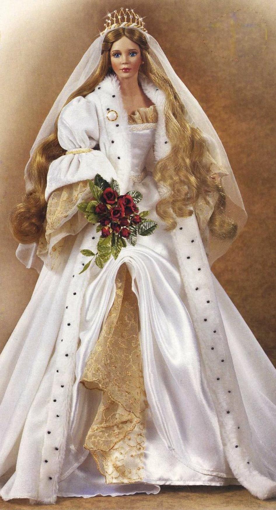 Christabella  Puppenkleidung, Barbie hochzeitskleid, Barbie braut
