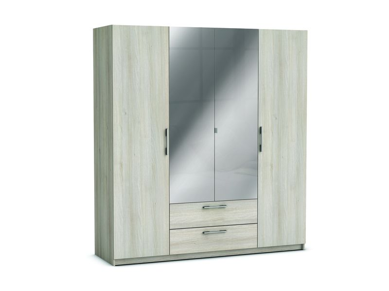 armoire 4 portes 2 tiroirs jupiter