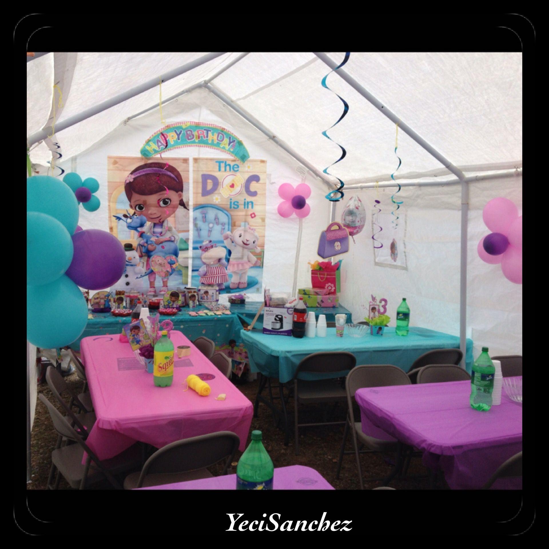 My Doc Mcstuffins Party Decoration Doc Mcstuffins Party Party Decorations Doc Mcstuffins