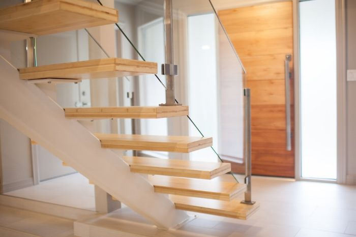 Best The Woodlands Project Stair Company Stairs Glass 400 x 300