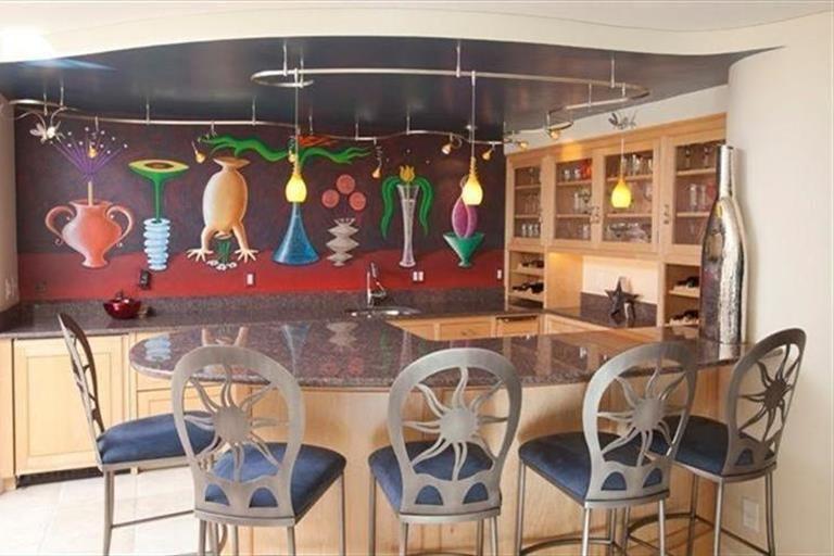 7825 Calderwood Ln Indian Hill, OH 45243 #Bar #HomeBar #Entertain