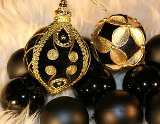 Black +and+gold+christmas+ Lights