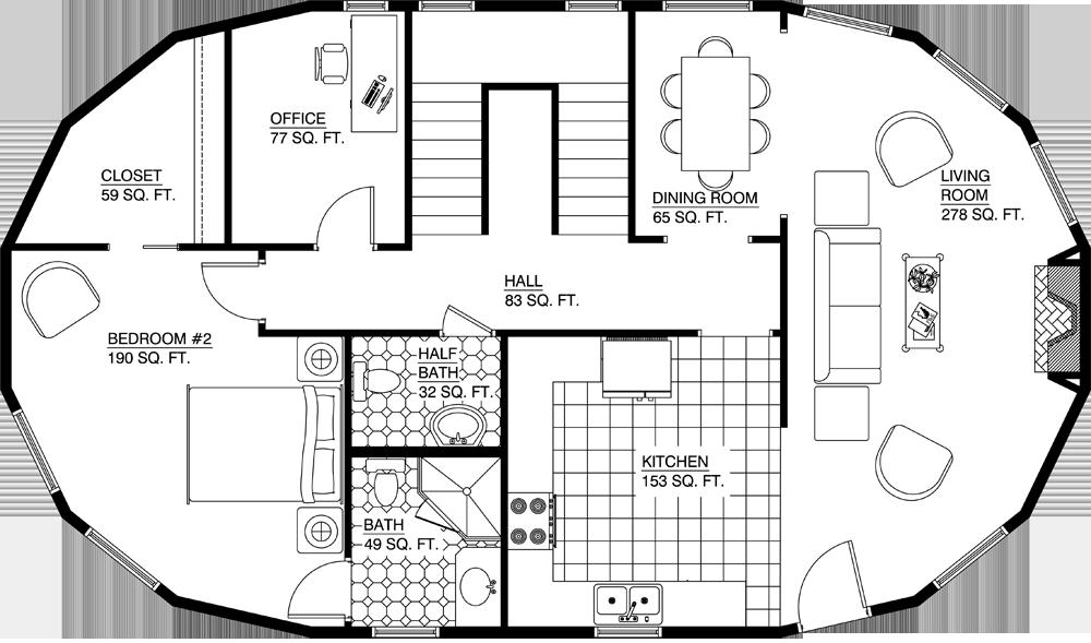 Deltec Homes- Floorplan Gallery