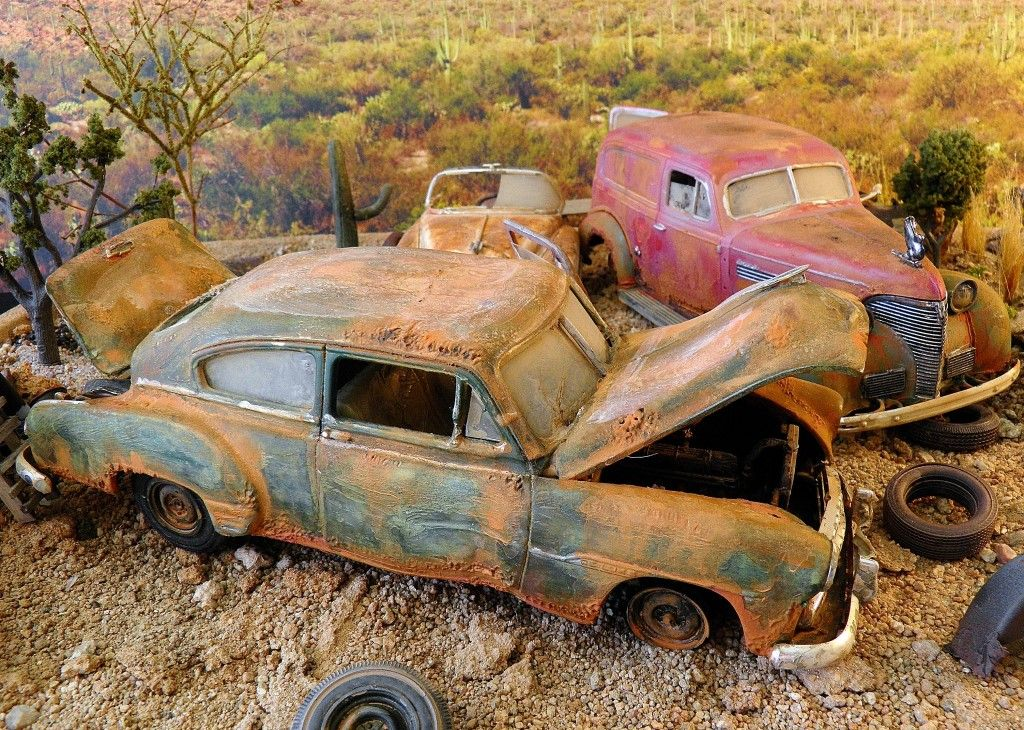 Junkyard Rusty Relics | END OF THE ROAD ... RUST or BUST ...