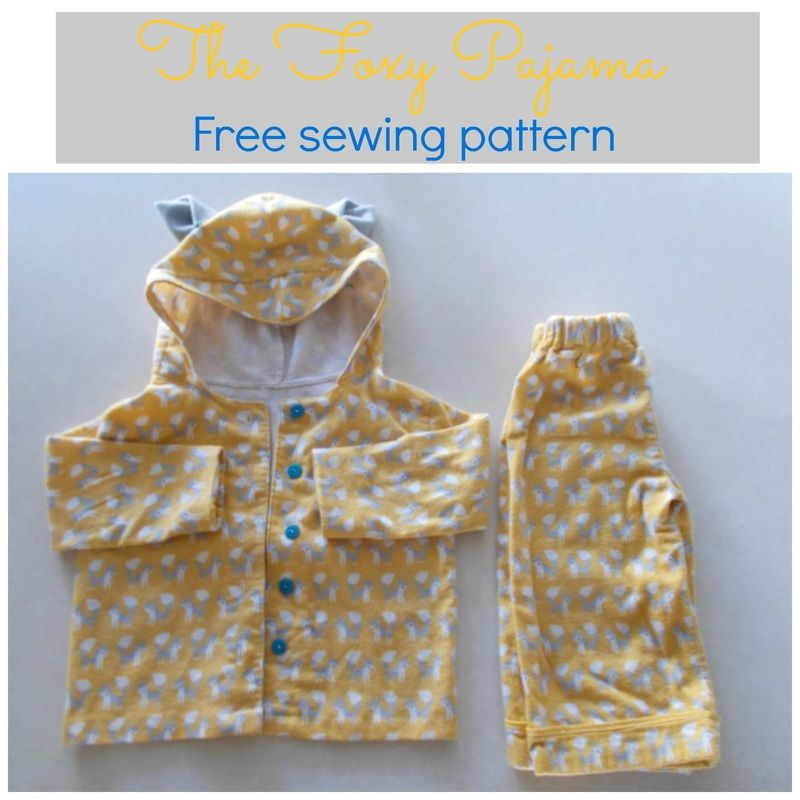 FREE SEWING PATTERN: THE FOXY PAJAMA - On the Cutting Floor ...