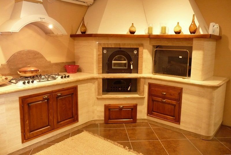 Best Cucine In Muratura Con Forno A Legna Gallery - Ideas & Design ...