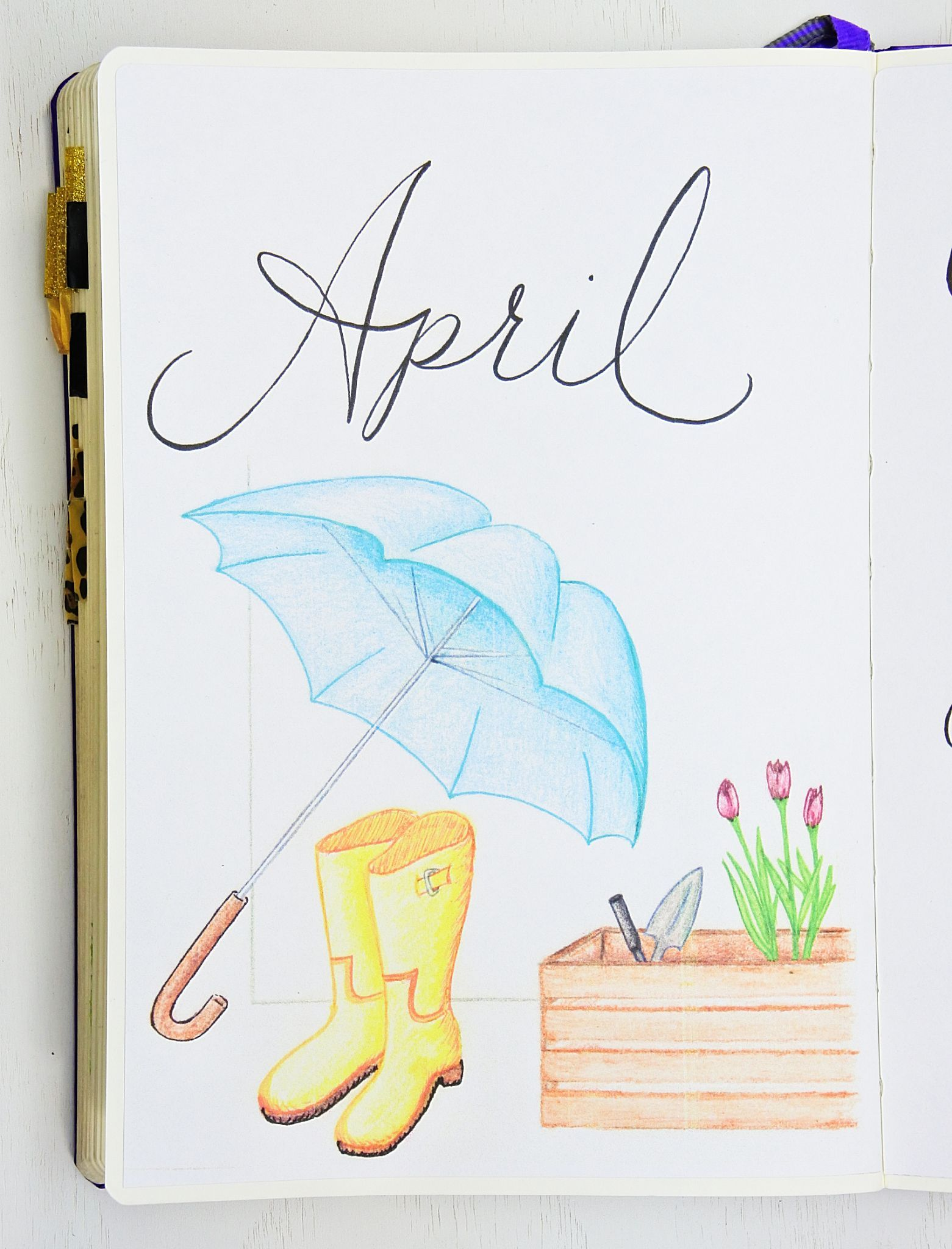 April Setup with 6 Free Printables ⋆ Sheena of the Journal