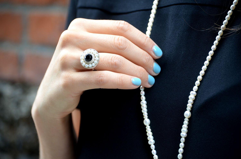 2817aa7020407 tiffany ziegfeld collection pearl ring $525CAD / $475USD | Fashion ...