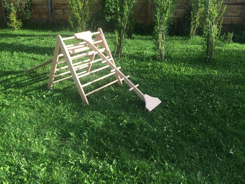 Kletterdreieck Bauen : Sprossenbaum affensteg für kletterdreieck pinterest